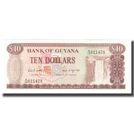 Billet, Guyana, 10 Dollars, KM:23d, NEUF - Guyana