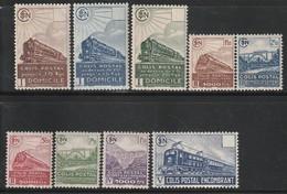 FRANCE - COLIS POSTAUX - N° 174/182 **  (1941) - Mint/Hinged