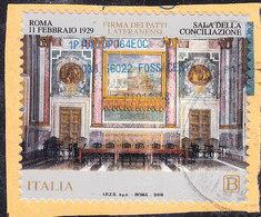 2019  SALA CONCILIAZIONE  USATO - 6. 1946-.. Repubblica