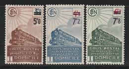 FRANCE - COLIS POSTAUX - N° 226A/7A/8A  **  (1945) - Mint/Hinged