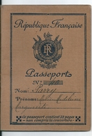 Passeport Français 1933 Sous Préfecture Riom (Puy De Dôme) Visa Italie Bardonecchia (Valico Ferroviaro Bardonecchia) - Historische Dokumente