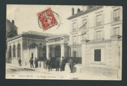 Saint Denis, La Banque De France,   ( Plis Dans L'angle ) Mbd 89 - Saint Denis