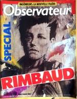 Le Nouvel Observateur N°1378 4 Au 10 Avril 1991 - Spécial Rimbaud - Politique