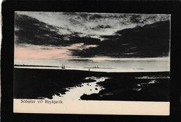 "Reykjavik,Iceland-Gorgeous View""Solsetur Vio Reykjavik 1910s - Antique Postcard - Iceland"