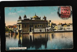 Amritsar,India-Spectacular Golden Temple 1922 - Antique Postcard - India