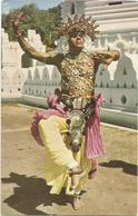 W2778/79 Sri Lanka Ceylon - Kandy - Temple Dancer - BOAC / Non Viaggiata - Sri Lanka (Ceylon)