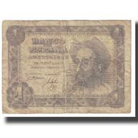 Billet, Espagne, 1 Peseta, 1951, 1951-11-19, KM:139a, AB+ - [ 3] 1936-1975 : Régence De Franco