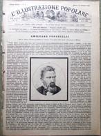 L'illustrazione Popolare 24 Gennaio 1886 Sardegna Morte Ponchielli Ponte Tamigi - Ante 1900
