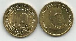 Peru 10 Centimos 1986. High Grade - Peru