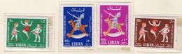 1964 - LIBANO - LEBANON - Mi. Nr.  843/846 - NH - (S03052019.....) - Libano