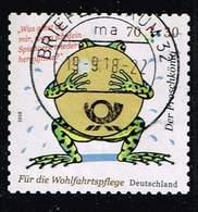 Bund 2018, Michel# 3364 O  Grimms Märchen: Der Froschkönig Selbstklebend - Oblitérés