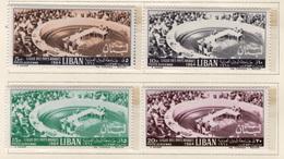 1964 - LIBANO - LEBANON - Mi. Nr.  863/866 - NH - (S03052019.....) - Libano