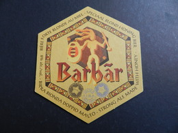 7ogg) SOTTOBOCCALE SOTTO BOCCALE BEER BIRRA BARBAR BOK - Sotto-boccale