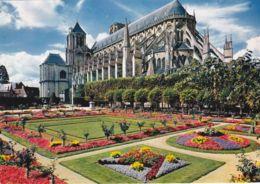 Bourges - Jardin De L'Hôtel De Ville - Cathédrale St Etienne - Bourges