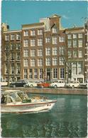W2785 Amsterdam - Hotel Estheréa - Auto Cars Voitures Barche Boats Bateaux / Viaggiata 1966 - Amsterdam