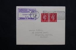CANADA - Oblitération Maritime De Quebec  Sur Enveloppe Du SS Express Of Australia En 1939 - L 28553 - Storia Postale