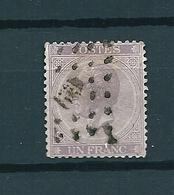 [2813] Zegel 21B Gestempeld - 1865-1866 Profile Left