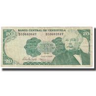 Billet, Venezuela, 20 Bolivares, 1995, 1995-06-05, KM:64a, TTB - Venezuela