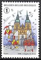 [154882]Belgique 2008 - N° 3802, Eupen, Permanent, Folklore, Carnaval, SNC - Carnaval