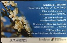 Paco \ LETTONIA \ LV-LTK-0024 B \ Spring Flowers \ Usata - Letland