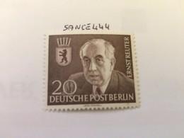 Berlin Ernst Reuter Mayor Mnh 1954 - [5] Berlin