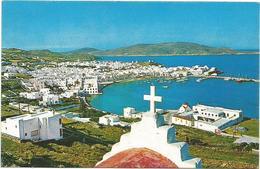 W2788 Mykonos - The World Renowned Dazzling White Island Of The Aegean - Olympic Airways / Non Viaggiata - Grecia