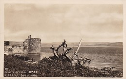 TIBERIAS. LAKE OF GALILEE. CPA CIRCA 1910s PALPHOT - BLEUP - Israel