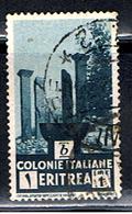 ERYTHRÉE 9 // YVERT 201 //  RUINE DE COLLOE // 1933 - Eritrea