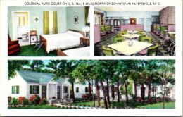 North Carolina Fayetteville Colonial Auto Court - Fayetteville