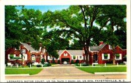 North Carolina Fayetteville Leonard's Motor Court - Fayetteville
