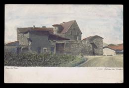 Cpa RIVE-DE-GIER (Loire), Ancien Château Du Sardon, Colorisée. Avant 1904. Voir Description Bien Détaillée. - Rive De Gier