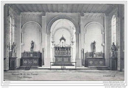 FAYT - LEZ - MANAGE ..-- N.D. Du Travail . Chapelle .1911 Vers BRUXELLES ( Mme Ed. MOYERSOEN ) . Voir Verso . - Manage