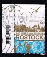 Bund 2018, Michel# 3395 O 800 Jahre Rostock - [7] République Fédérale