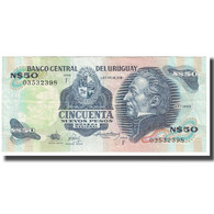 Billet, Uruguay, 50 Nuevos Pesos, KM:61d, SUP - Uruguay