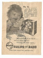 Kingdom Of Yugoslavia 1935 PTT Post Telegraph & Telephone Directions Receipt PHILIPS Radio 736 - Brieven En Documenten