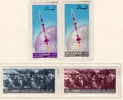 1964 - LIBANO - LEBANON - Mi. Nr.  878/881 - NH - (S03052019.....) - Libanon