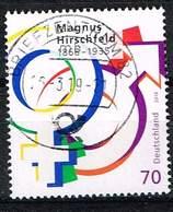 Bund 2018, Michel# 3403 O 150. Geburtstag Von Magnus Hirschfeld - [7] République Fédérale