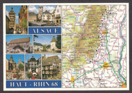 91300/ FRANCE, L'Alsace - Cartes Géographiques