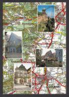 91301/ FRANCE, L'Alsace - Cartes Géographiques