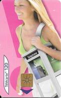 TC-PUBLIC-F1337.K-120U-GEM1-06/05-CABINE FEMME-2 -%46000Ex-UTILISE-TBE/RARE - France