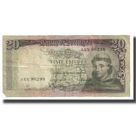 Billet, Portugal, 20 Escudos, 1964, 1964-05-26, KM:167a, TB - Portugal