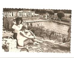 Snapshot - Femme A La Piscine - Aurillac  - Vintage - Pin-up
