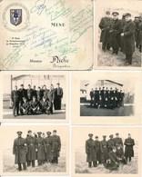5 Photos & Menu - Police Nationale - Centre D'Instruction Et D'Application De La Sureté Nationale - SENS 11 Mars 1961 - Guerre, Militaire