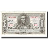 Billet, Bolivie, 1 Boliviano, 1928, 1928-07-20, KM:128a, NEUF - Bolivia