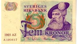 Sweden P.51  5  Kroner  1965 Unc - Svezia