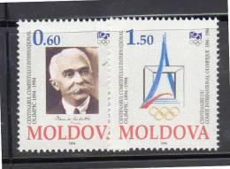MOLDAVIE - N° 112/3 **  (1994) - Moldavie