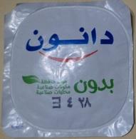 Egypt - Couvercle De Yoghurt  Danone Arabic(foil) (Egypte) (Egitto) (Ägypten) (Egipto) (Egypten) Africa - Koffiemelk-bekertjes