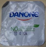 Egypt - Couvercle De Yoghurt  Danone English (foil) (Egypte) (Egitto) (Ägypten) (Egipto) (Egypten) Africa - Milk Tops (Milk Lids)