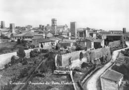 """0481 """"TARQUINIA (VT) - PANORAMA DA PORTA CASTELLO"""" CART. ORIG. NON SPED. - Altre Città"""