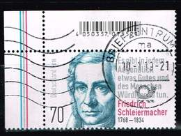 Bund 2018, Michel# 3419 O 250. Geburtstag Von Friedrich Schleiermacher - [7] République Fédérale